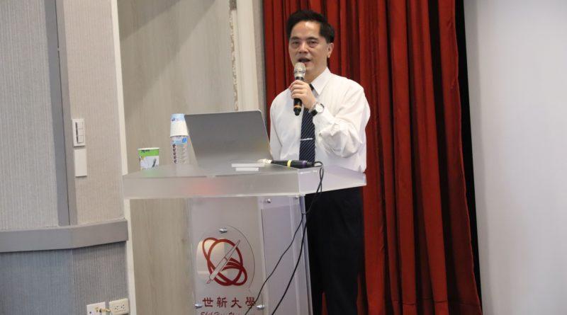 107-1新聞講座特色課程-慈濟醫院院長 林欣榮