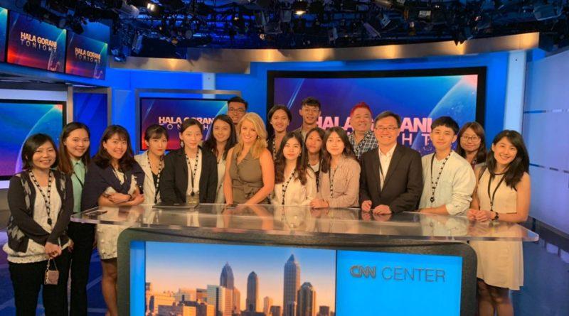 【新聞系同學遠赴CNN接受專業訓練 期許成為充滿熱情的新聞人】
